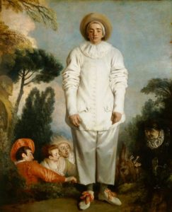 Jean-Antoine-Watteau. Pierrot, formerly known as Gilles. The Louvre.