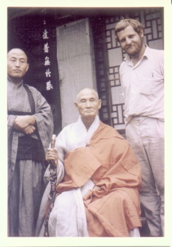 With the famous Korean Zen Master Kyong Bong