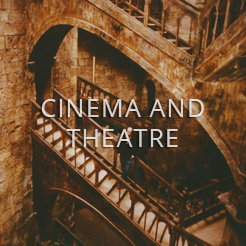 cinema and theatre interviews